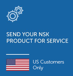 Send your NSK product for service